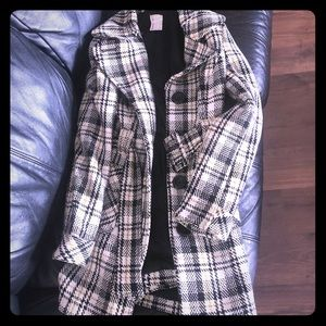 Jackets & Blazers - Tweed Coat